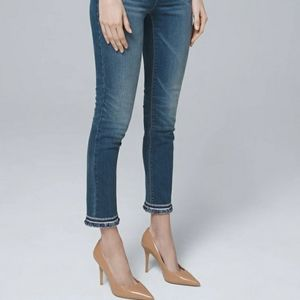 Whbm slim cropped pants never worn
